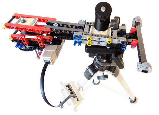 Barn Door Tracker Built With Lego Parts Brian Carter