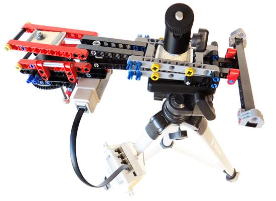 Barn Door Tracker Built With Lego Parts Brian Carter